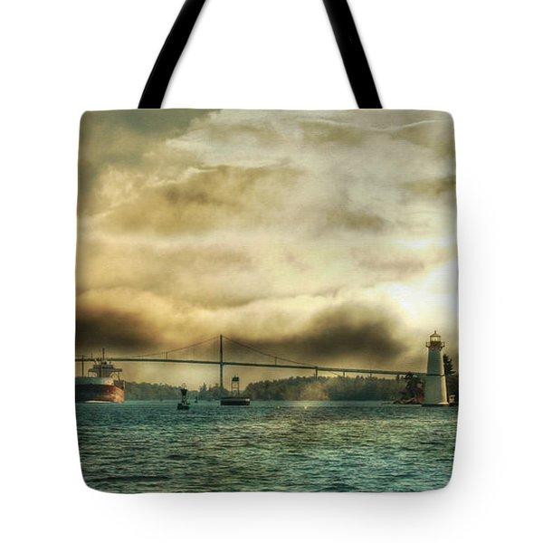 St. Lawrence Seaway Tote Bag