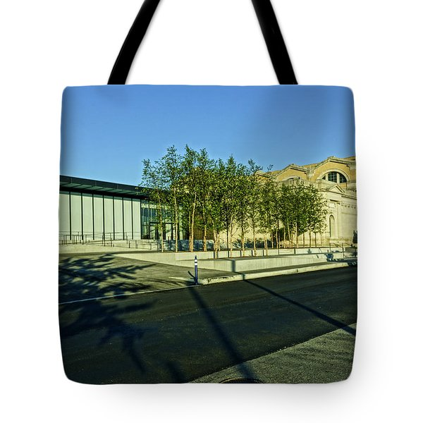 St Louis Art Museum New And Old Tote Bag