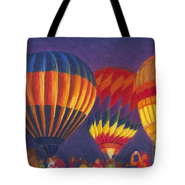 St Louis Balloon Glow Tote Bag