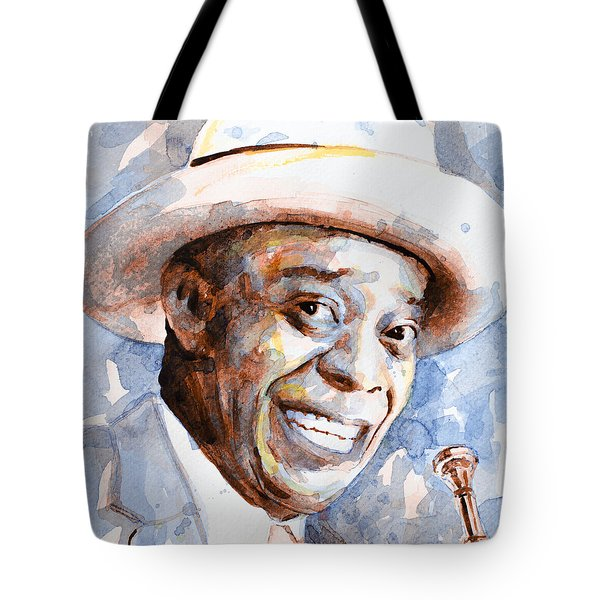 Tote Bag featuring the painting St. Louis Blues 2 by Laur Iduc
