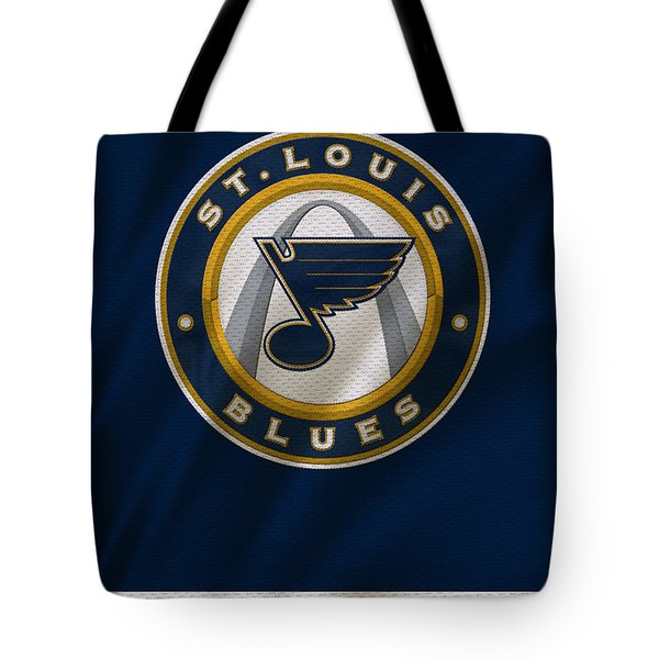 St Louis Blues Uniform Tote Bag