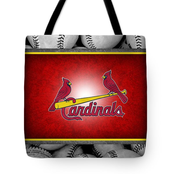 St Louis Cardinals Tote Bag