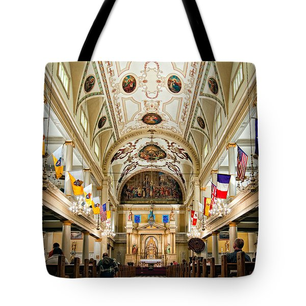 St. Louis Cathedral Tote Bag