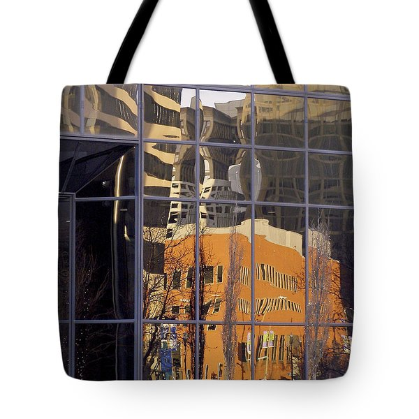 St. Louis Reflection Tote Bag by Jane Eleanor Nicholas