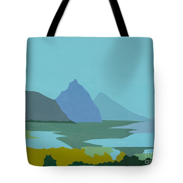 St. Lucia - W. Indies II Tote Bag by Elisabeta Hermann