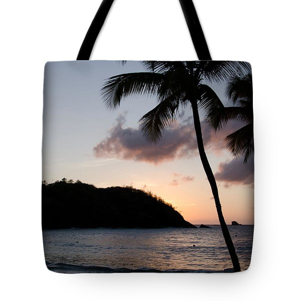 St. Lucian Sunset Tote Bag