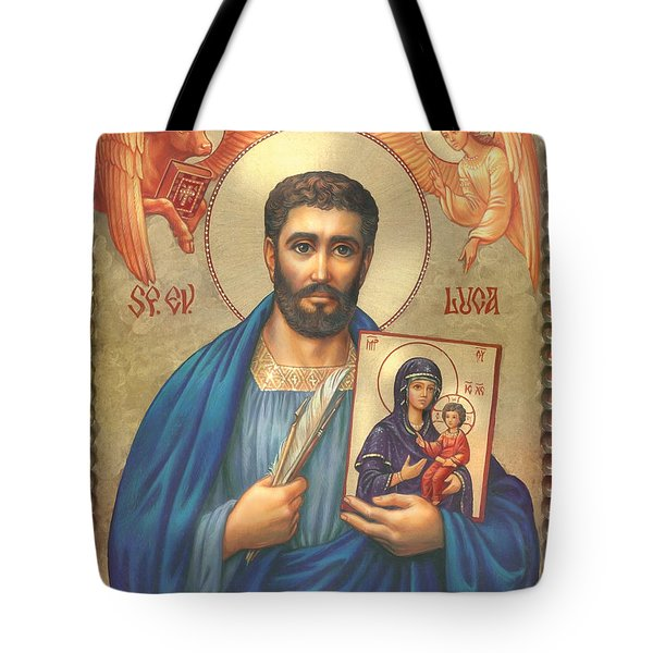 St. Luke Tote Bag by Zorina Baldescu