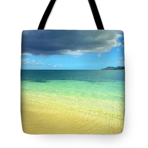 St. Maarten Tropical Paradise Tote Bag