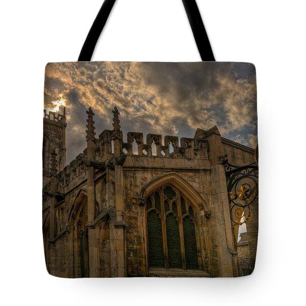 St Martin Coney Street In York Tote Bag