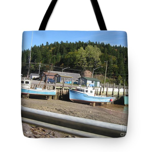 St-martin's Fishing Fleet Tote Bag by Francine Heykoop