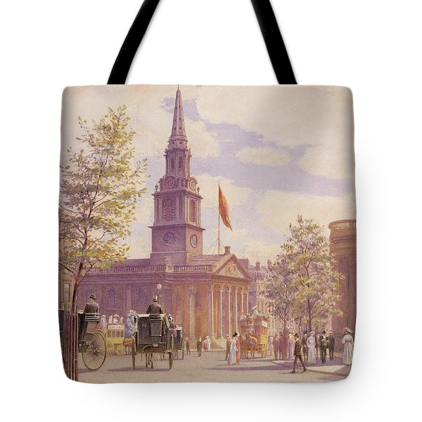 St. Martin's In The Fields London Tote Bag