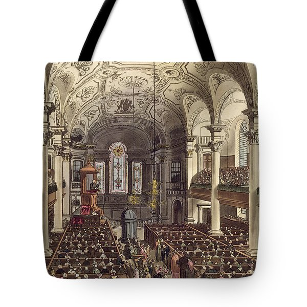St Martins In The Fields Tote Bag