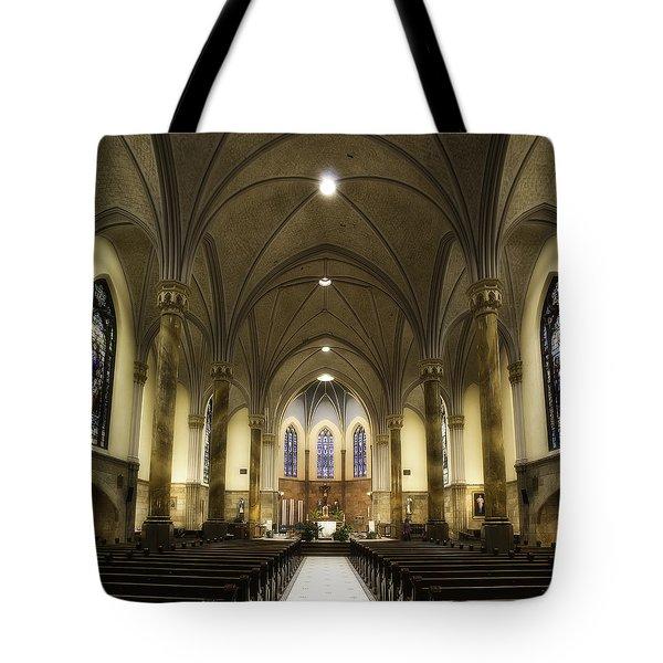 St Mary's Catholic Church Tote Bag