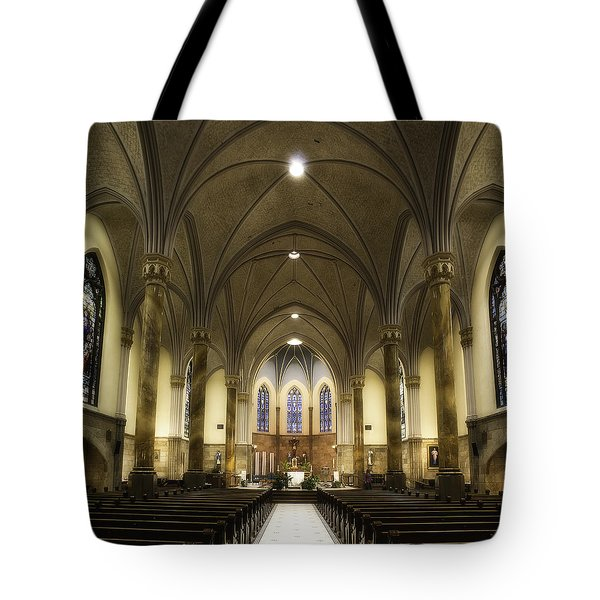 St Mary's Catholic Church Tote Bag
