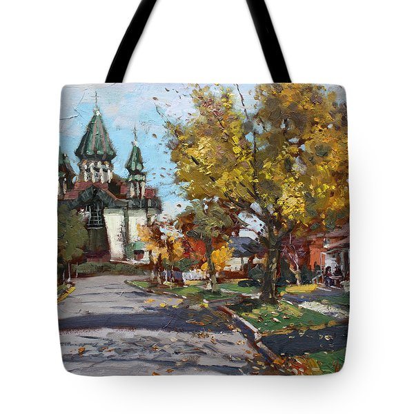 St. Marys Ukrainian Catholic Church Tote Bag
