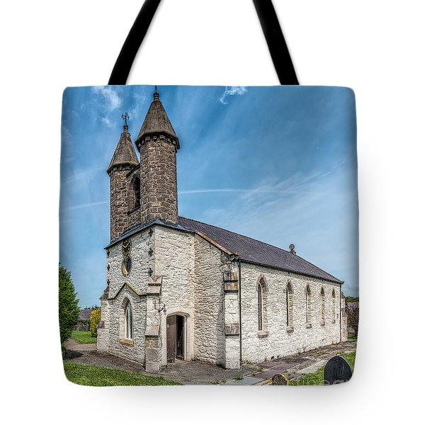 St Michael Church Tote Bag by Adrian Evans