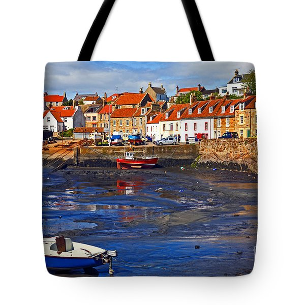 Tote Bag featuring the photograph St Monans Fife by Craig B