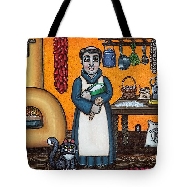 St. Pascual Making Bread Tote Bag