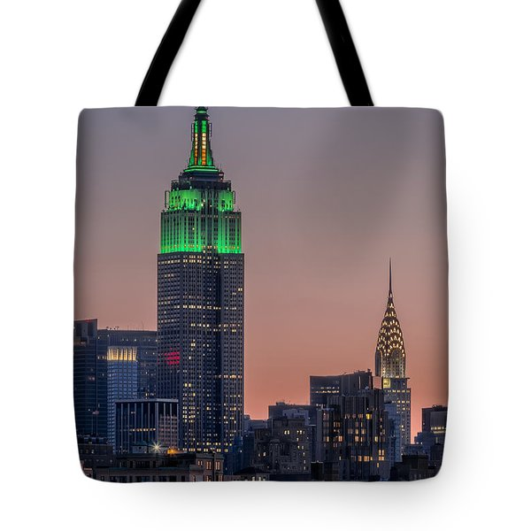 St Patrick's Day Postcard Tote Bag by Eduard Moldoveanu