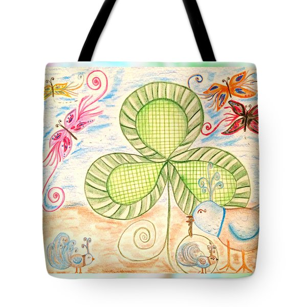 St Pattys Day Lunch Tote Bag