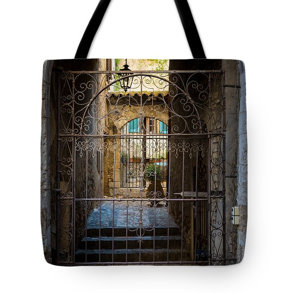 St Paul Courtyard Tote Bag by Inge Johnsson