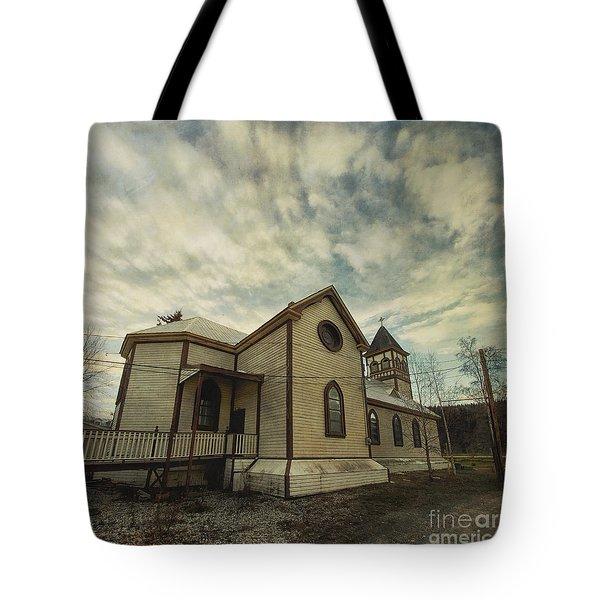 St. Pauls Anglican Church Tote Bag by Priska Wettstein