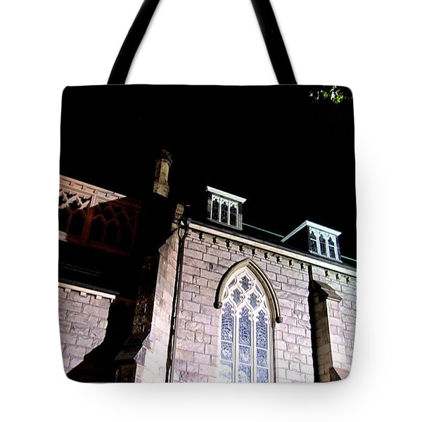 St. Paul's Presbyterian Church Tote Bag by Danielle  Parent