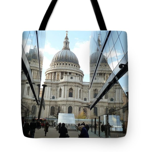 St Paul's Reflected Tote Bag
