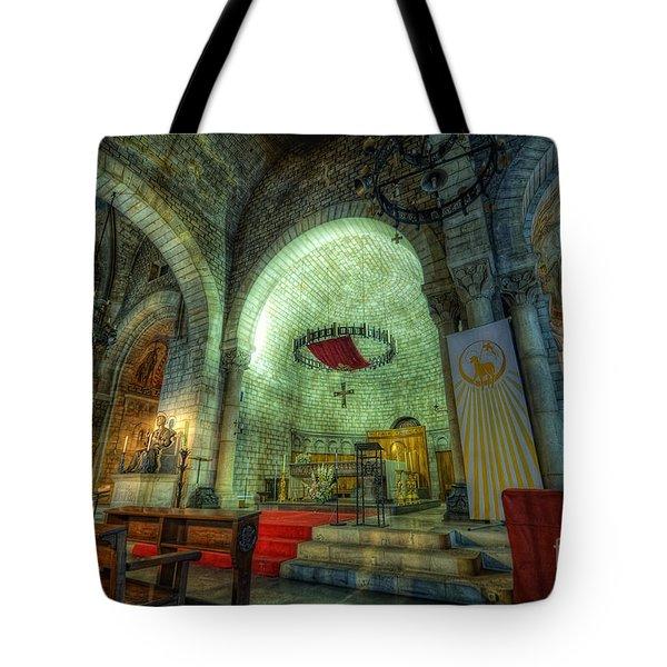 St Pere De Puelles Church - Barcelona Tote Bag
