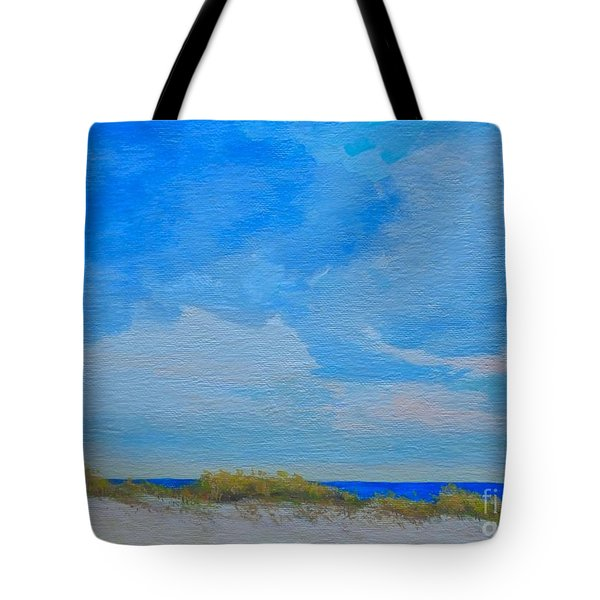 St. Pete Beach Spring Tote Bag
