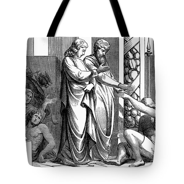 St. Peter And St. John Tote Bag by Granger