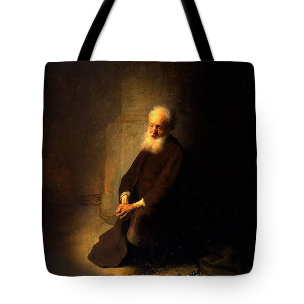 St. Peter In Prison, 1631 Tote Bag