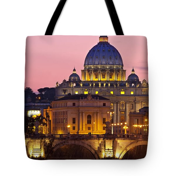 St Peters Basilica Tote Bag by Brian Jannsen