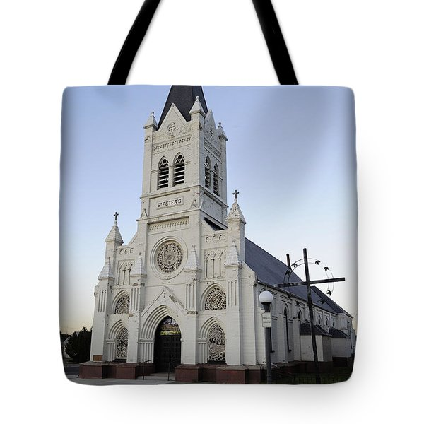 Tote Bag featuring the photograph St. Peter's by Fran Riley