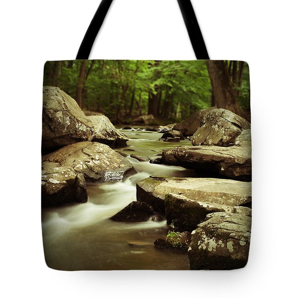 St. Peters Stream Tote Bag