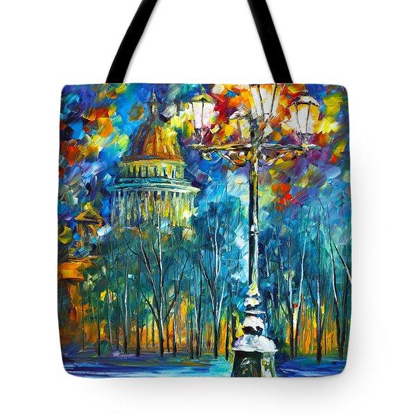 St. Petersburg New Tote Bag by Leonid Afremov