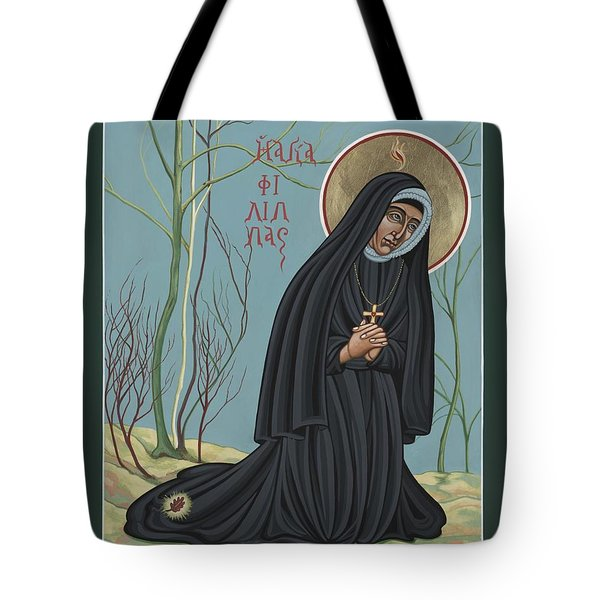 Tote Bag featuring the painting St. Philippine Duchesne 259 by William Hart McNichols