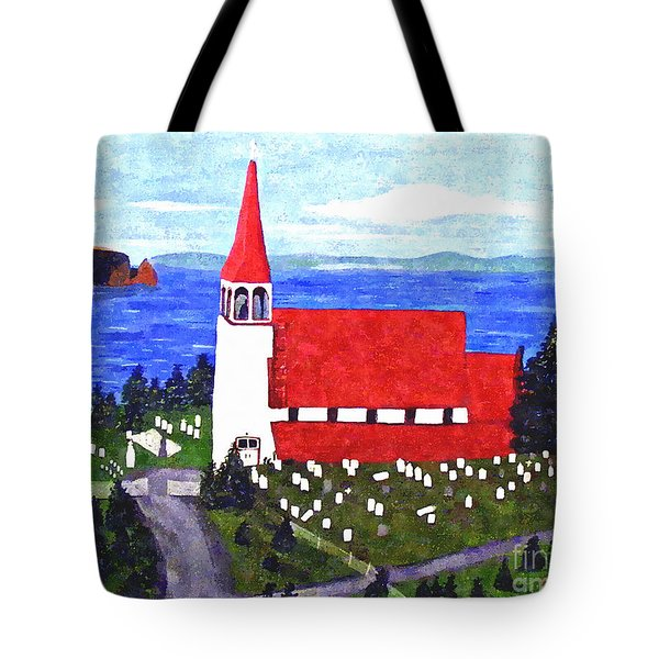 St. Philip's Church Tote Bag by Barbara Griffin