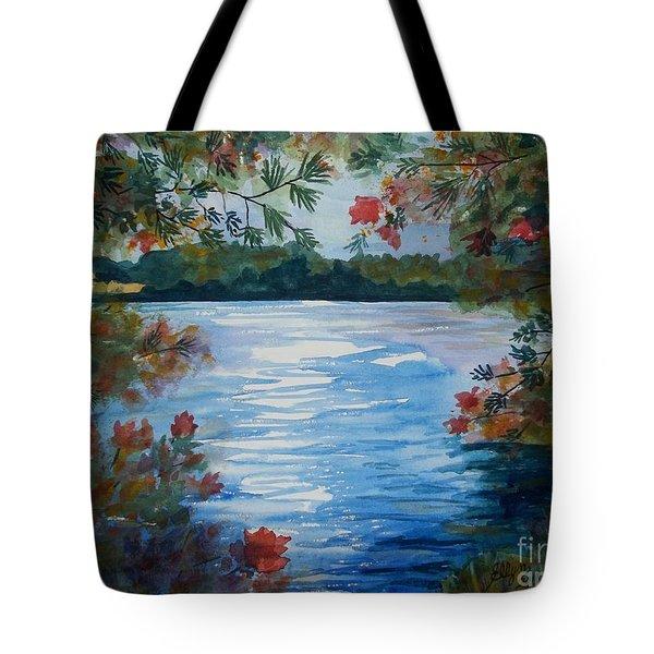 St. Regis Lake Tote Bag