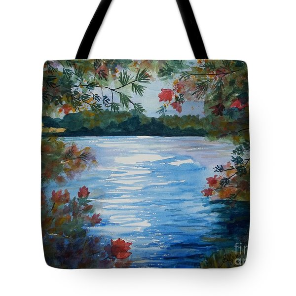 St. Regis Lake Tote Bag