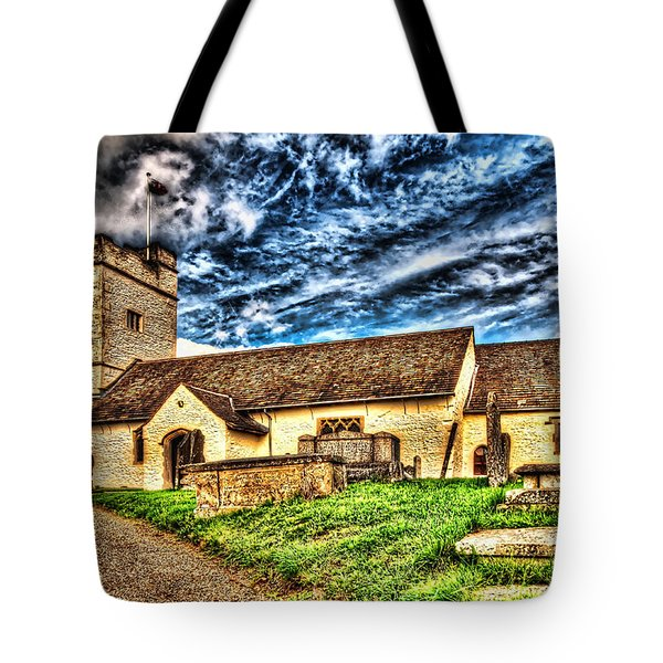 St Sannans Church Bedwellty Tote Bag