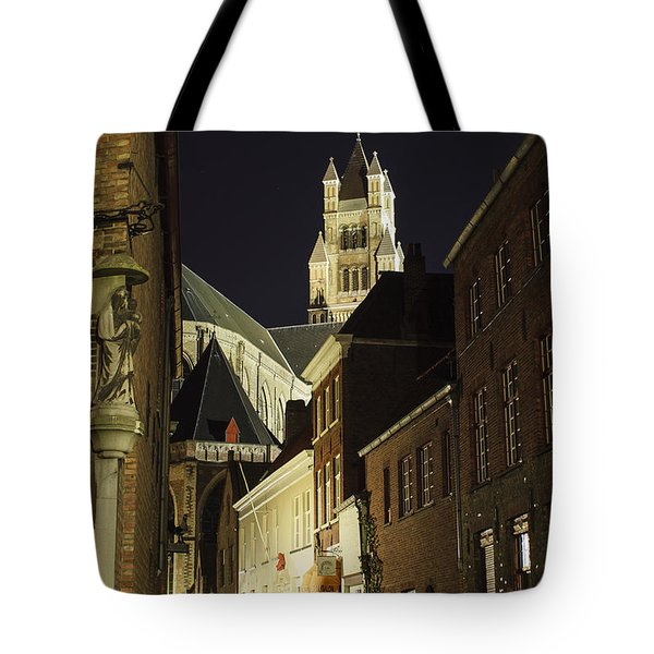 St Saviour Cathedral  Tote Bag by Adam Romanowicz