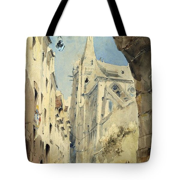 St. Severin Paris Tote Bag by James Holland