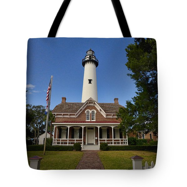 St. Simons Light Tote Bag