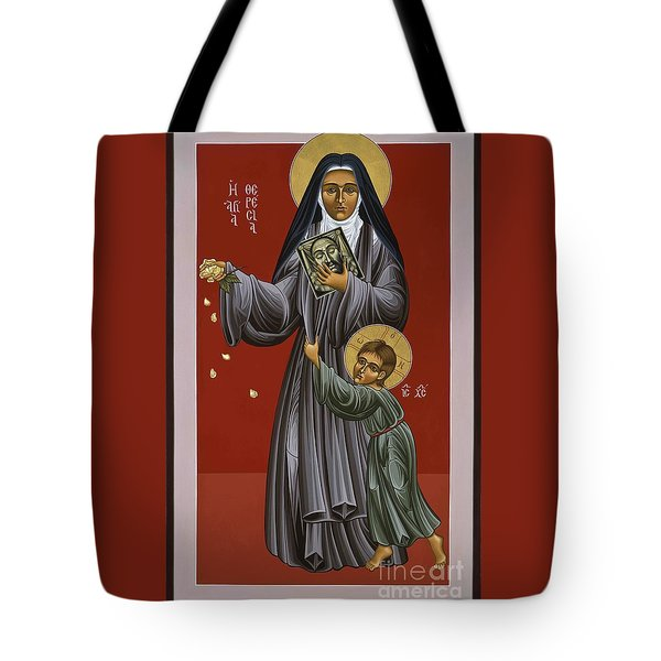 St. Therese Of Lisieux Doctor Of The Church 043 Tote Bag