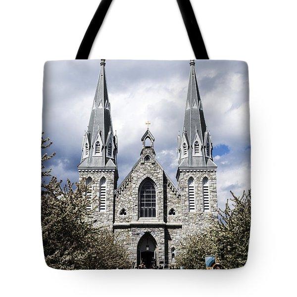 St. Thomas Of Villanova 2 Tote Bag