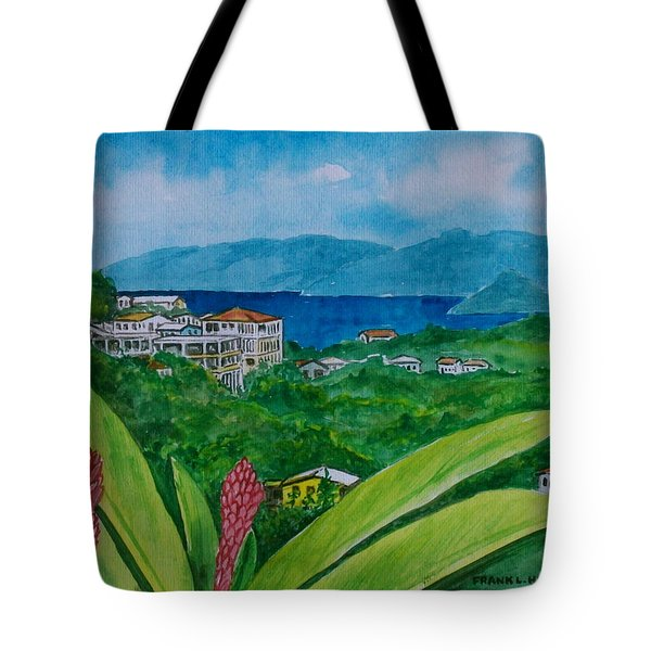 St. Thomas Virgin Islands Tote Bag by Frank Hunter