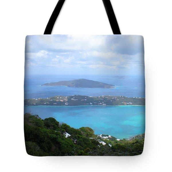 St-thomas Virgin Islands Usa Tote Bag by Danielle  Parent