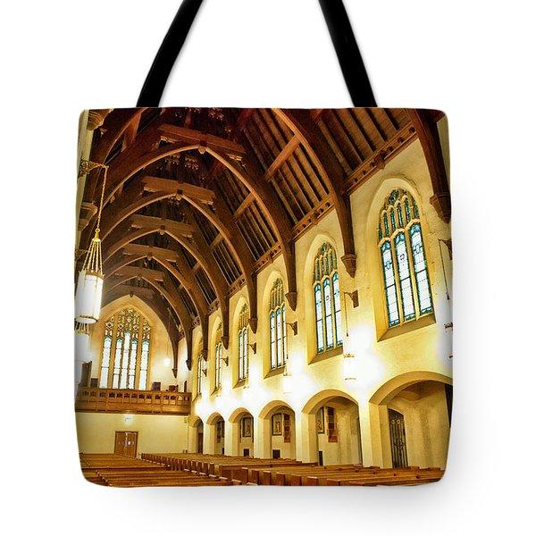 St. Vincent De Paul Church Tote Bag