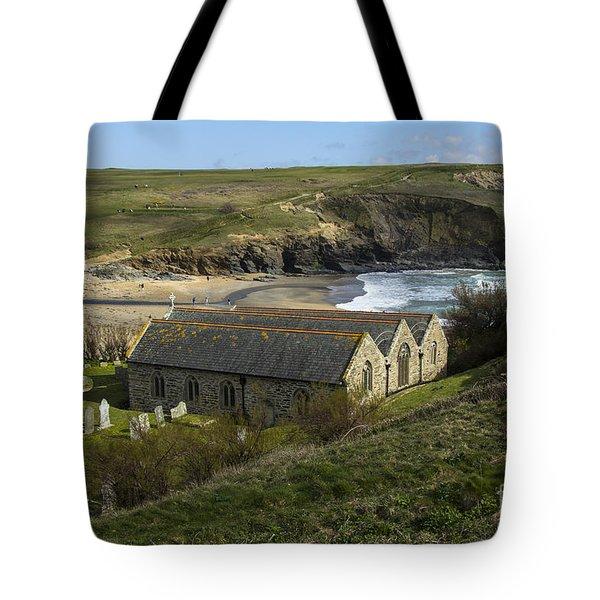 St Winwaloe Gunwalloe Tote Bag